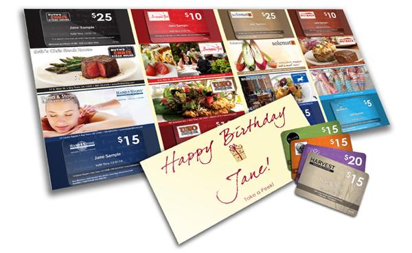 BirthdayPak Mailer